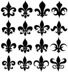 fleur de lys design vector image