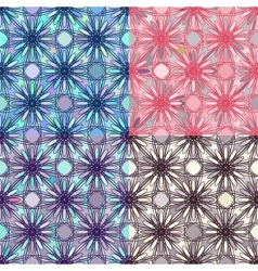 Mosaic Seamless Pattern vector image