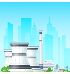 Nuclear Power Plant vector