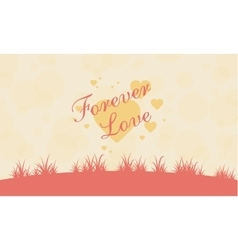 romance theme valentine collection vector image
