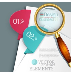 an office background vector image