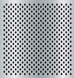 brushed dot background vector image vector image