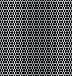 metal hexagon background vector image