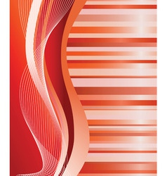 abstract red background vector illustration vector image