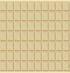 chocolate seamless milk white handmade bio food vector image