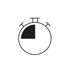 chronometer icon vector image