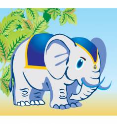 Elephant design vector