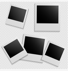 frames for photo on isolated background vector image