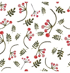 Handpaint watercolor seamless pattern vector