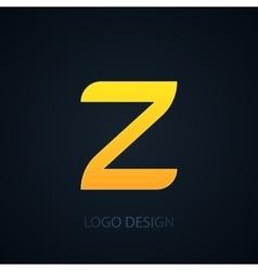 logo letter z vector image vector image