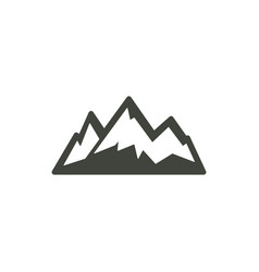 Mountain icon symbol vector