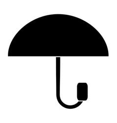 umbrella weathersymbol icon vector image