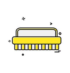 washroom icon design vector image