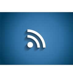 Wi-Fi Glossy Icon vector