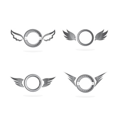 wing art vector image