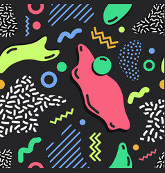 modern simple seamless pattern with bright colored vector image vector image
