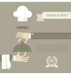 Chef concept vector image vector image