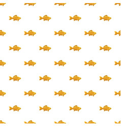 Fish snack for beer pattern vector