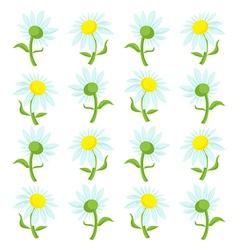 Flower cartoon vector