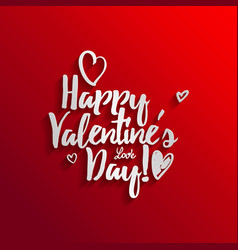 Happy valentine s day vector