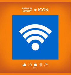 Internet connection icon vector