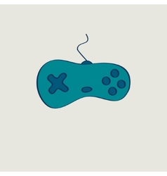 minimal game controller vector image