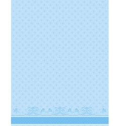 blue antique background vector image vector image