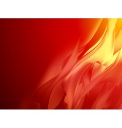 Red abstract background curved EPS 10 vector image