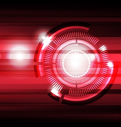future tech background vector image vector image