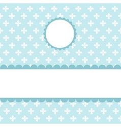 Seamless pattern wallpaper vector image vector image