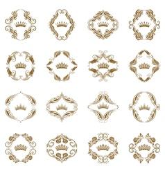 Victorian crown vector image