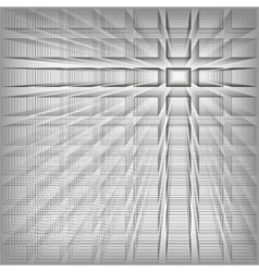 Gray color abstract infinity background 3d vector image