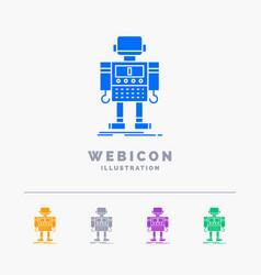 Autonomous machine robot robotic technology 5 vector