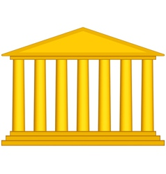 Colonnade vector image
