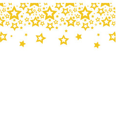color stars christmas decoration backgroud vector image