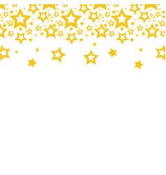 Color stars christmas decoration backgroud vector