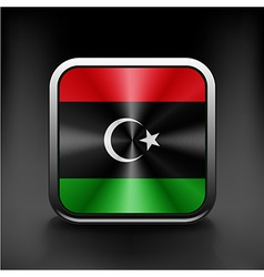 Flag of Libya icon world country symbol vector image