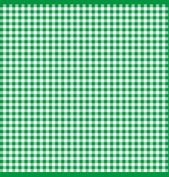 green tablecloths patterns on the background vector image