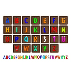 Letter Blocks vector