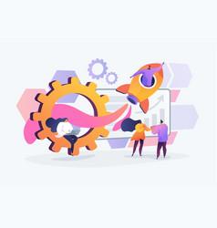 Productivity concept vector
