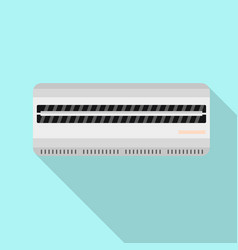 room air conditioner icon flat style vector image