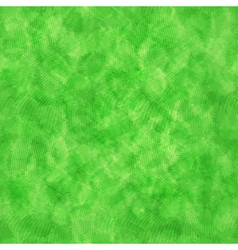 Watercolor green pattern vector image