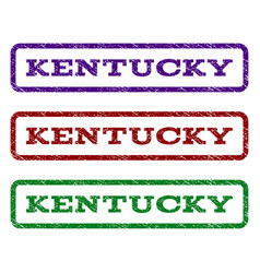 kentucky watermark stamp vector image