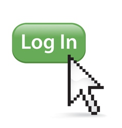 Log In Button vector image vector image
