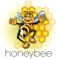 Mister Beehive vector image vector image
