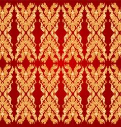 Art pattern bayon style vector