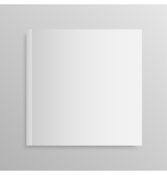 Blank empty magazine or book Mock up One vector