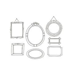 Cartoon Frames Collection vector image