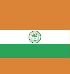 miami flag vector image