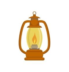Old-school Kerosene Lamp vector